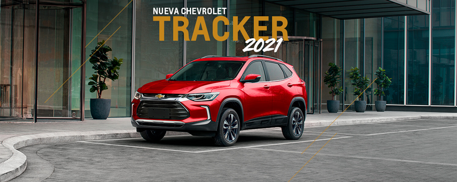 Nuevo Chevrolet Tracker 2021
