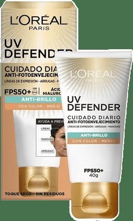 UV Defender anti brillo tono medio