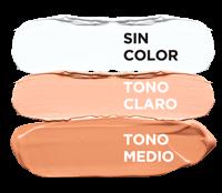 sin color, tono claro y tono medio